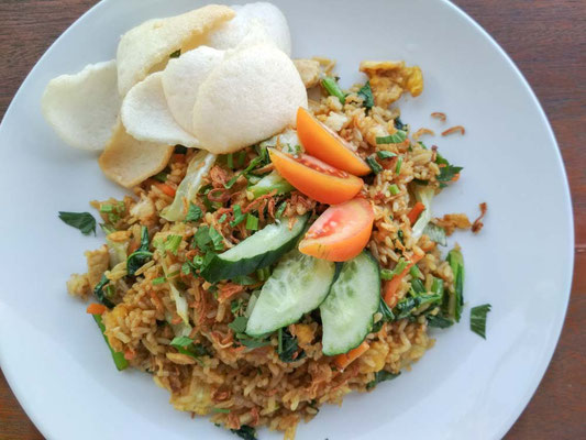 Ricetta del Nasi Goreng - Riso saltato all'indonesiana (Photo by Gabriele Ferrando - LA MIA ASIA)
