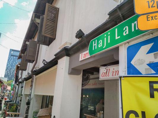 Haji Lane, la via più trendy del quartiere di Kampong Glam a Singapore (Photo by Gabriele Ferrando - LA MIA ASIA)