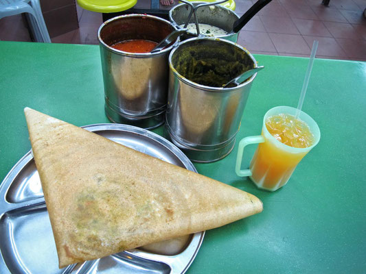 SINGAPORE - Masala Dosa (Photo by Gabriele Ferrando - LA MIA ASIA)