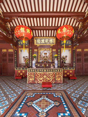 Thien Hock Keng Temple a Chinatown, Singapore (Photo by Basile Morin)