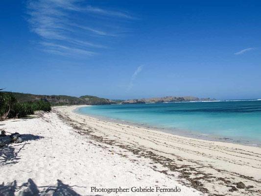 Indonesia. Tanjung Ann Beach a Lombok (Photo by Gabriele Ferrando - LA MIA ASIA)
