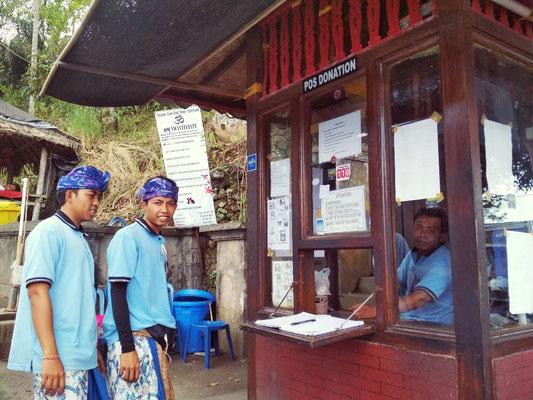 Offerta libera per entrare al tempio di Lempuyang