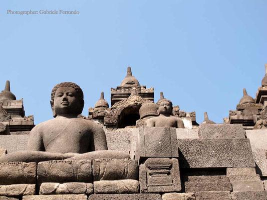 Indonesia. Borobudur Temple a Java (Photo by Gabriele Ferrando - LA MIA ASIA)