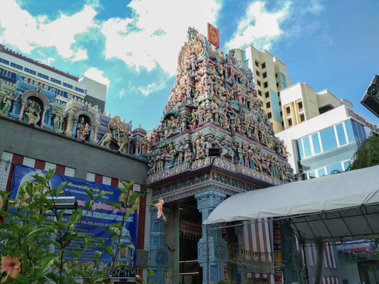 Sri Veeramakaliamman Temple, Little India - Singapore (Photo by Gabriele Ferrando - LA MIA ASIA)
