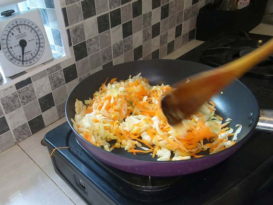 Cuocete carote e cavolo insieme