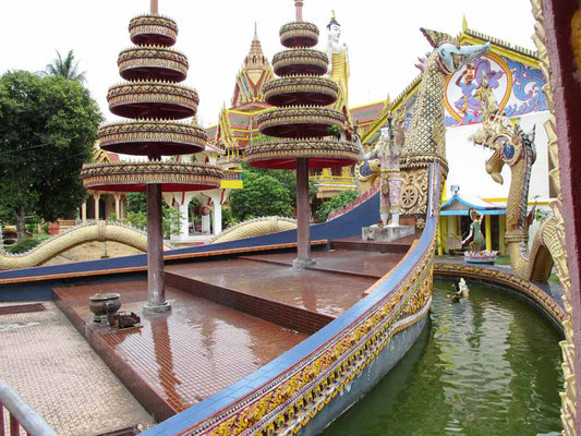 Wat Maisuwankiri (Dragon Boat Temple) a Kota Bharu, Malesia (Photo by Gabriele Ferrando - LA MIA ASIA)