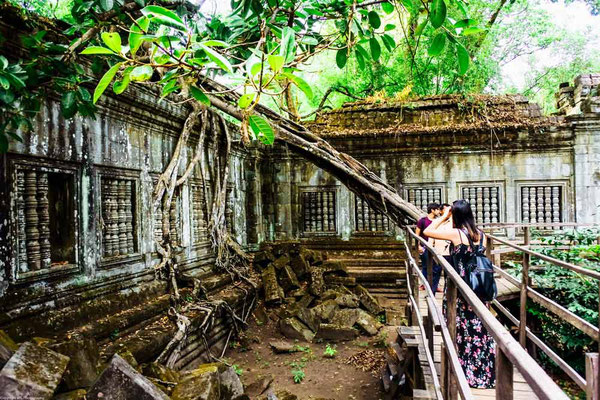 Beng Mealea Temple (Photo by Wil)