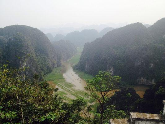 Vista mozzafiato da Hang Mua Cave