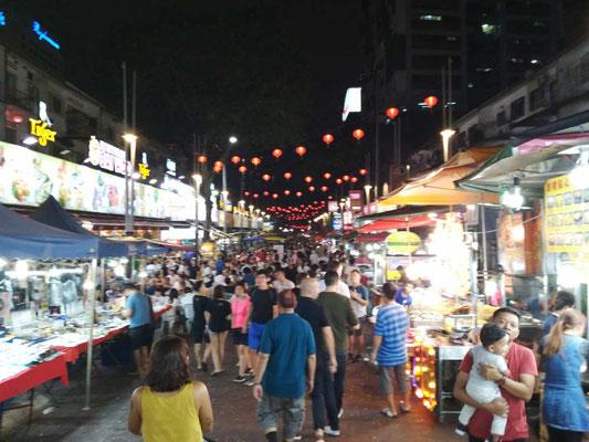 Le bancarelle alimentari di Jalan Alor - Kuala Lumpur (Photo by Gabriele Ferrando - LA MIA ASIA)