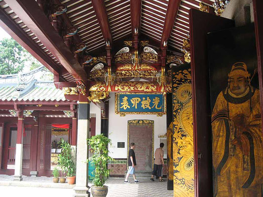 Thien Hock Keng Temple a Chinatown, Singapore (Photo by Terence Hong)