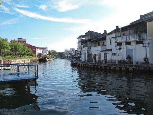 Malacca. Il fiume di Sungai Melaka (Photo by Gabriele Ferrando - LA MIA ASIA)