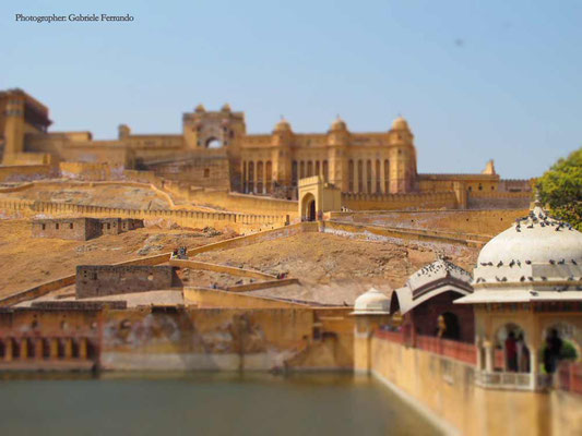 Amber Fort a Jaipur - India (Photo by Gabriele Ferrando - LA MIA ASIA)