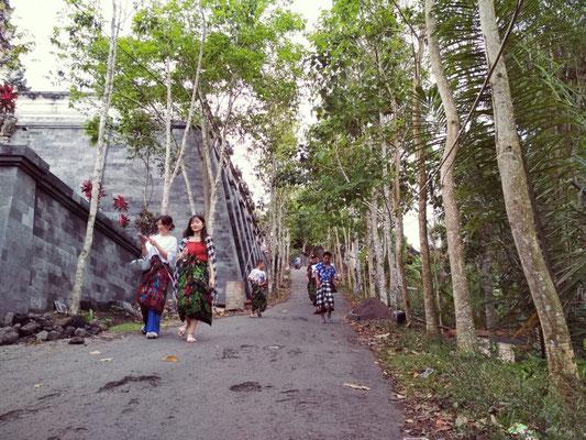Salita per raggiungere il tempio di Lempuyang
