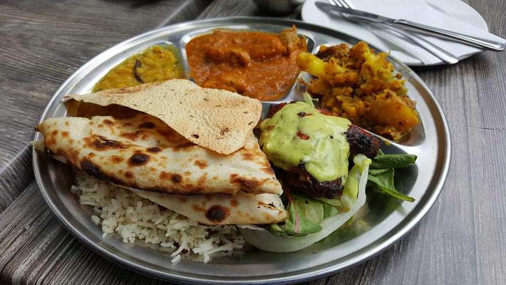 Cucina indiana: thali