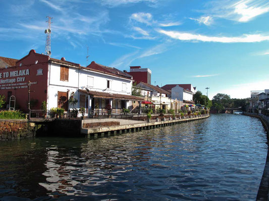 Malacca. Riverside (Photo by Gabriele Ferrando - LA MIA ASIA)