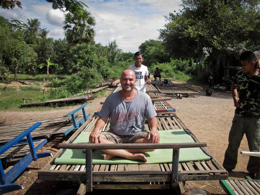 Bamboo Train - Battambang - CAMBOGIA