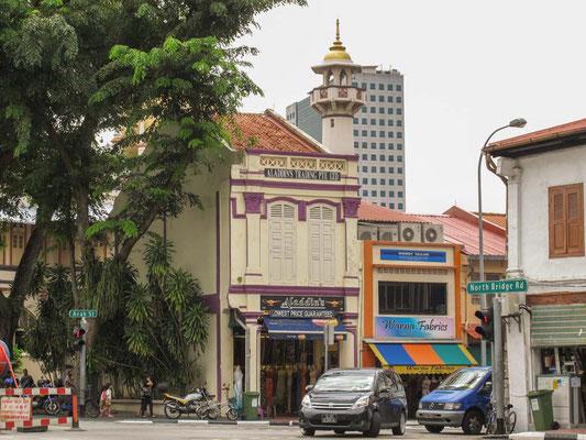 Quartiere di Kampong Glam a Singapore (Photo by Gabriele Ferrando - LA MIA ASIA)
