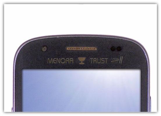 Plakat Smartphone Menora Trust