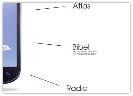 Plakat Smartphone Bibel