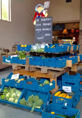 Gemüseverkauf am Markt