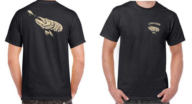 tee shirt homme pêche