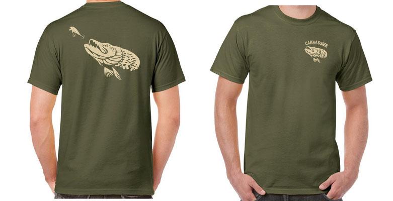 tee shirt carnassier
