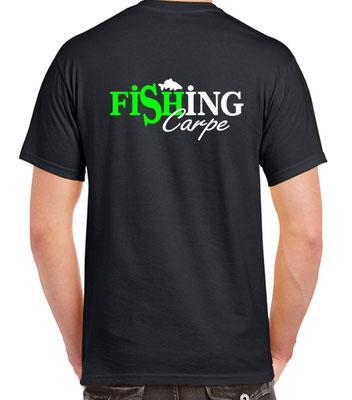 pêcheur de grosse carpe