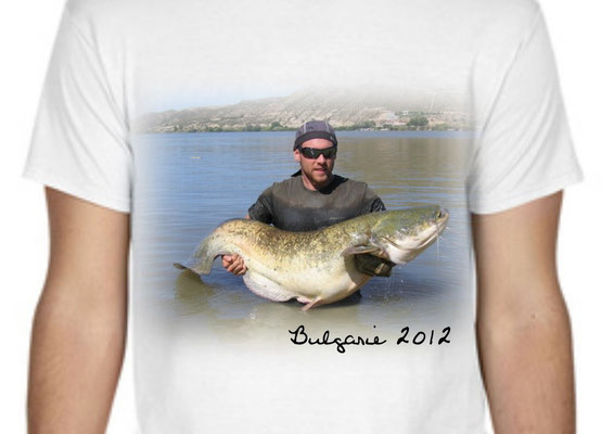 tshirt pecheur avec photo