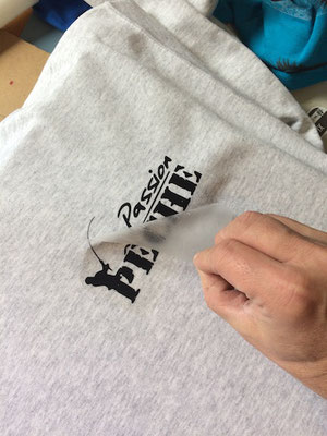 reproduction de t shirt peche