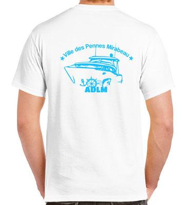 t-shirt club de pêche