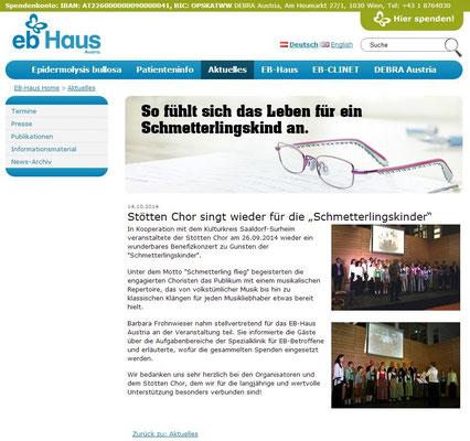 EB-Homepage Oktober 2014