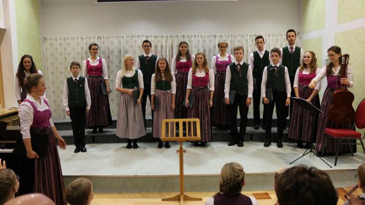 Der aktuelle Stötten-Jugendchor