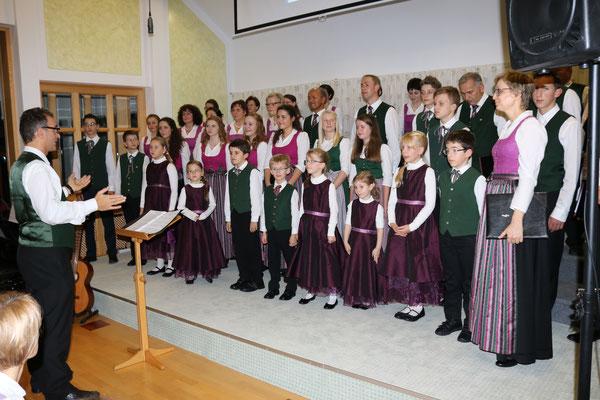 Der Stötten-Chor komplett...