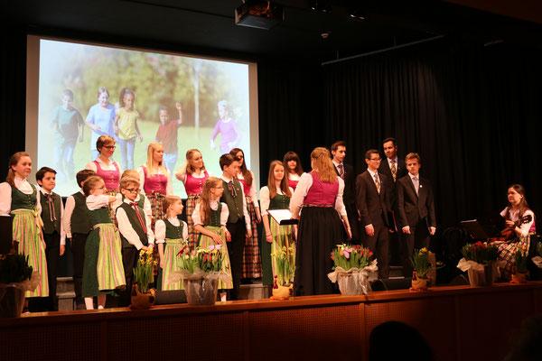 der Kinder- und Jugendchor