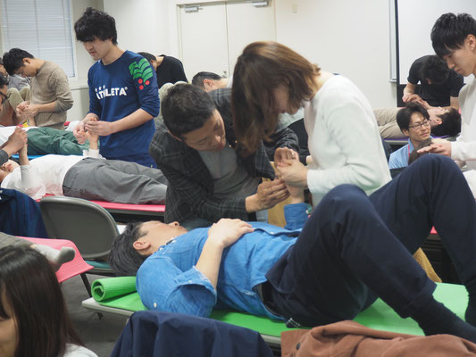 セミナー風景 促通反復療法(川平法)5