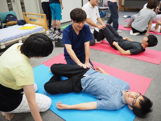 MARKSTAR セミナー 風景5 「脳卒中片麻痺者に対する立位・歩行の評価と治療」