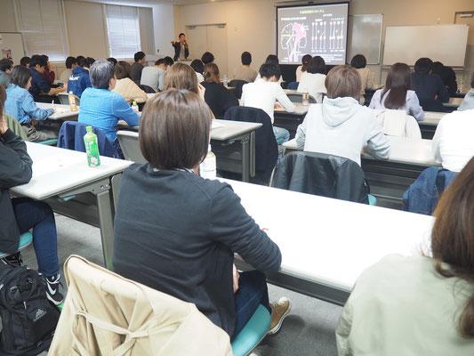 セミナー風景 促通反復療法(川平法)1