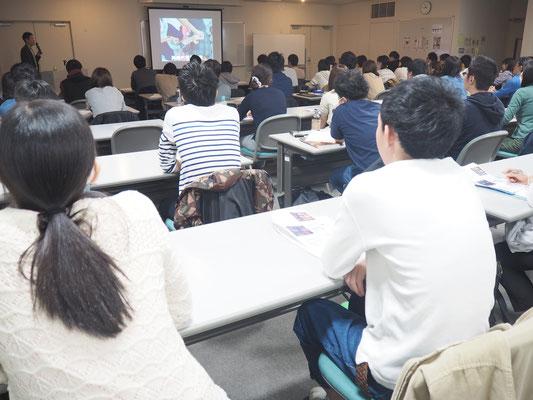 セミナー風景 促通反復療法(川平法)2