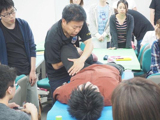 セミナー風景 股関節疾患に対する術後リハビリテーション5