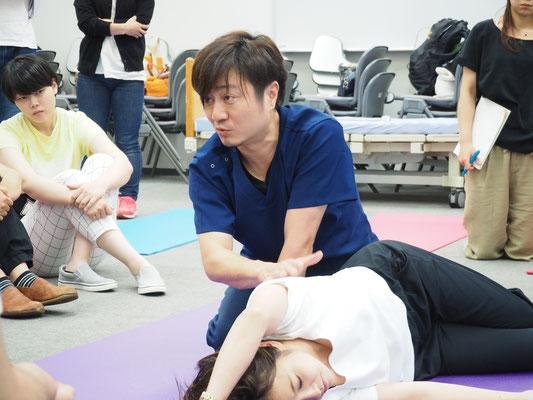 MARKSTAR セミナー 風景3 「脳卒中片麻痺者に対する立位・歩行の評価と治療」