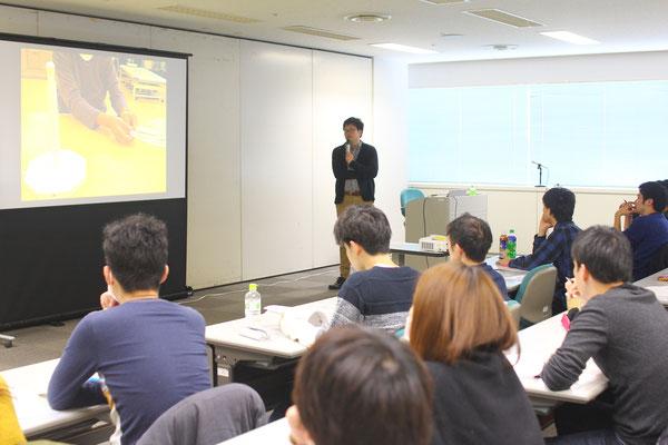 神奈川県 マークスター セミナー 風景2 「脳機能と高次脳機能障害」