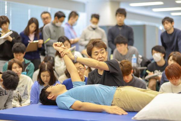 セミナー風景 脳卒中片麻痺者に対する上肢機能アプローチ4