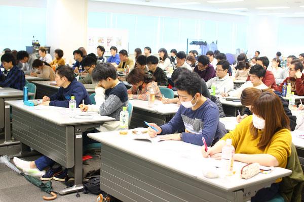 神奈川県 マークスター セミナー 風景6 「脳機能と高次脳機能障害」