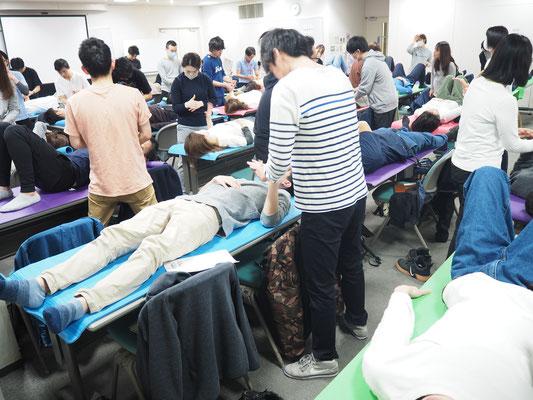 セミナー風景 促通反復療法(川平法)4