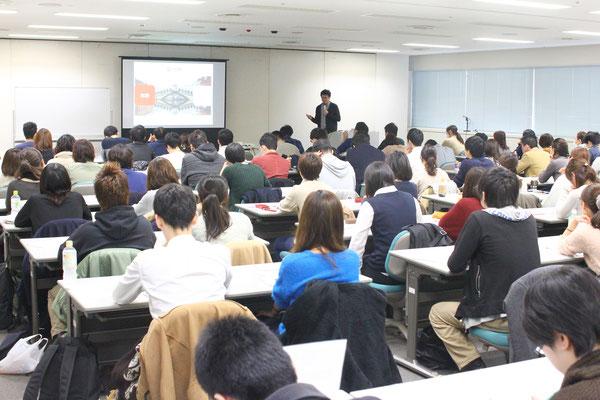 神奈川県 マークスター セミナー 風景1 「脳機能と高次脳機能障害」
