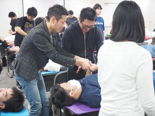 セミナー風景 促通反復療法(川平法)6