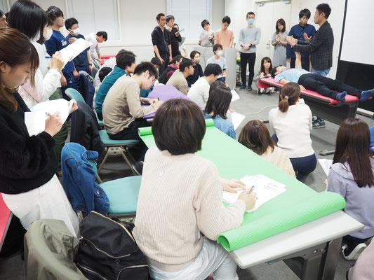 セミナー風景 促通反復療法(川平法)3