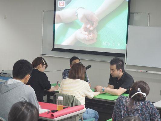 勉強会風景 上肢機能の評価とアプローチ5