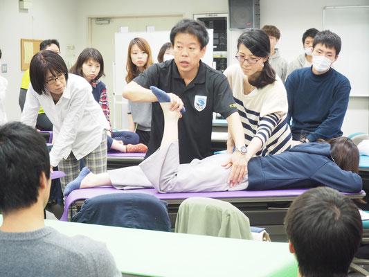 MARKSTAR セミナー 風景3 「股関節疾患に対するリハビリテーション」