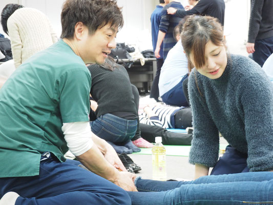 セミナー風景 脳卒中片麻痺者に対する立位・歩行の評価と治療5